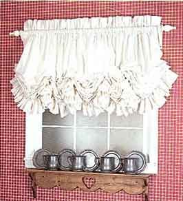 Original Dorothy S Dorothy S Originals Shabby Chic Kitchen Ruffle Curtains Curtain Decor