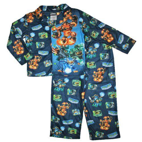 a25945474 Skylanders Swap Force Boys Coat Pajama Set (6 7