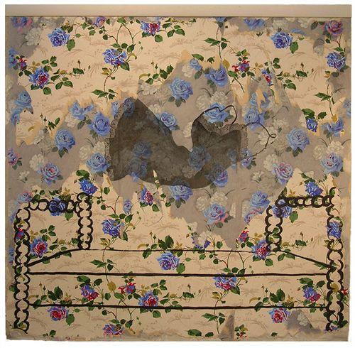 """Marty Baird, """"Roses are not Blue"""" by Raleigh Arts Commission, via Flickr"""