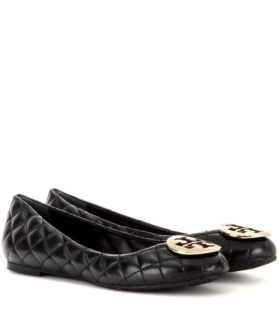 c1d17f3c1fe Tory Burch Quinn quilted leather ballerinas