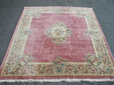 Rra 12x18 Pink Rose Au Rugs On Carpet Rugs Aubusson Rugs