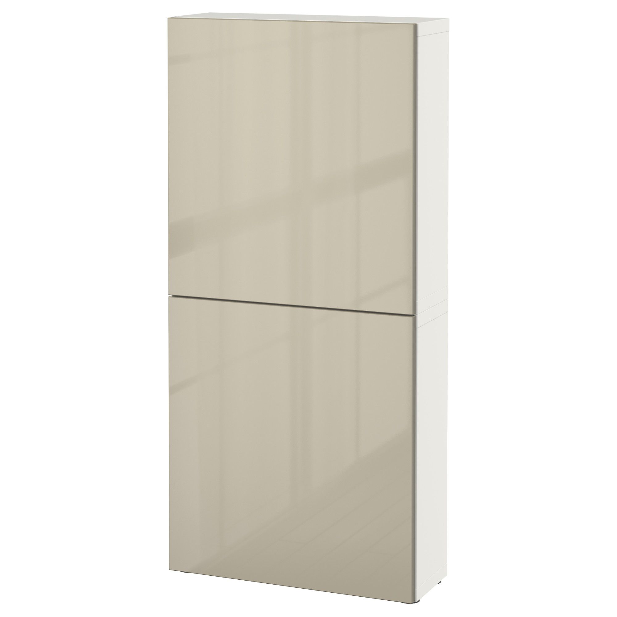 BESTÅ, Wandschrank mit 2 Türen, weiß Jetzt bestellen unter: https ...
