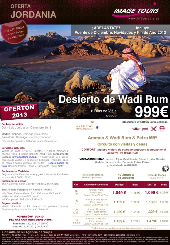 JORDANIA y Wadi Rum hasta Diciembre 2013, incluye Puente, Navidades y Fin de Año, desde 999€ - http://zocotours.com/jordania-y-wadi-rum-hasta-diciembre-2013-incluye-puente-navidades-y-fin-de-ano-desde-999e/