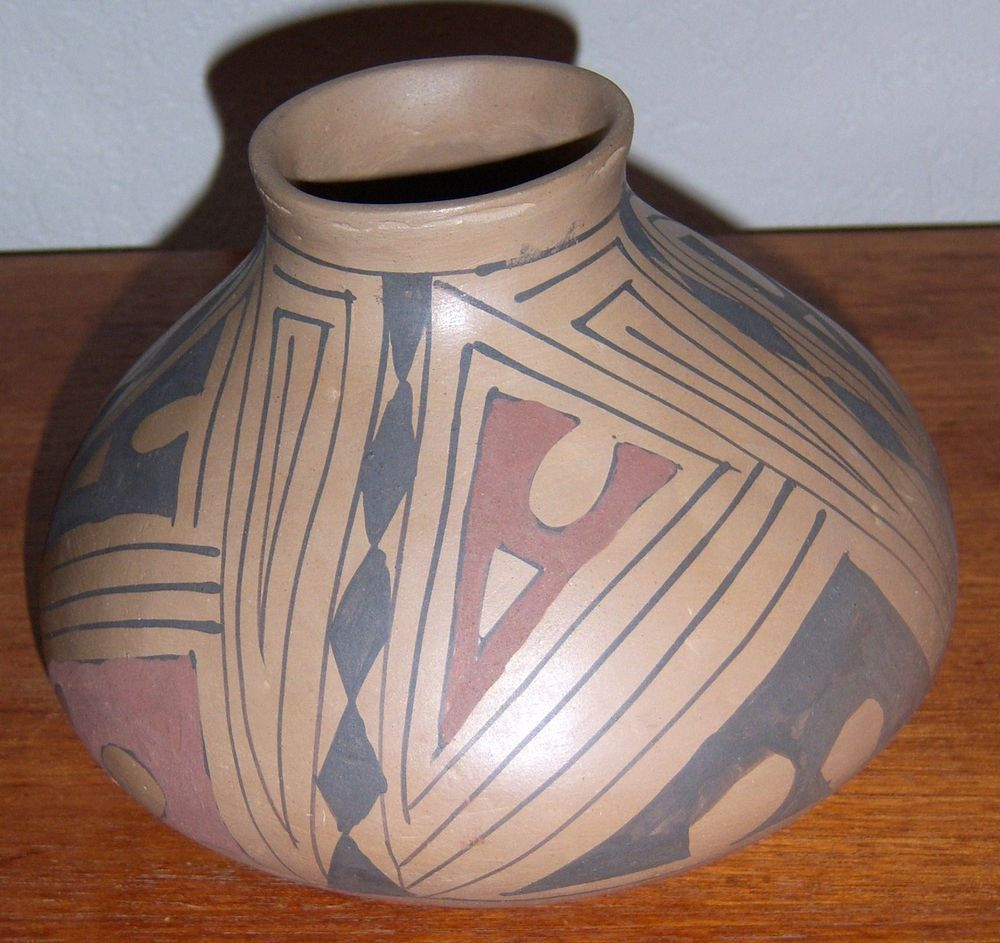 CASA GRANDES MATA ORTIZ Pot Jar Bowl MID 80'S From Sotheby's Auction Vintage
