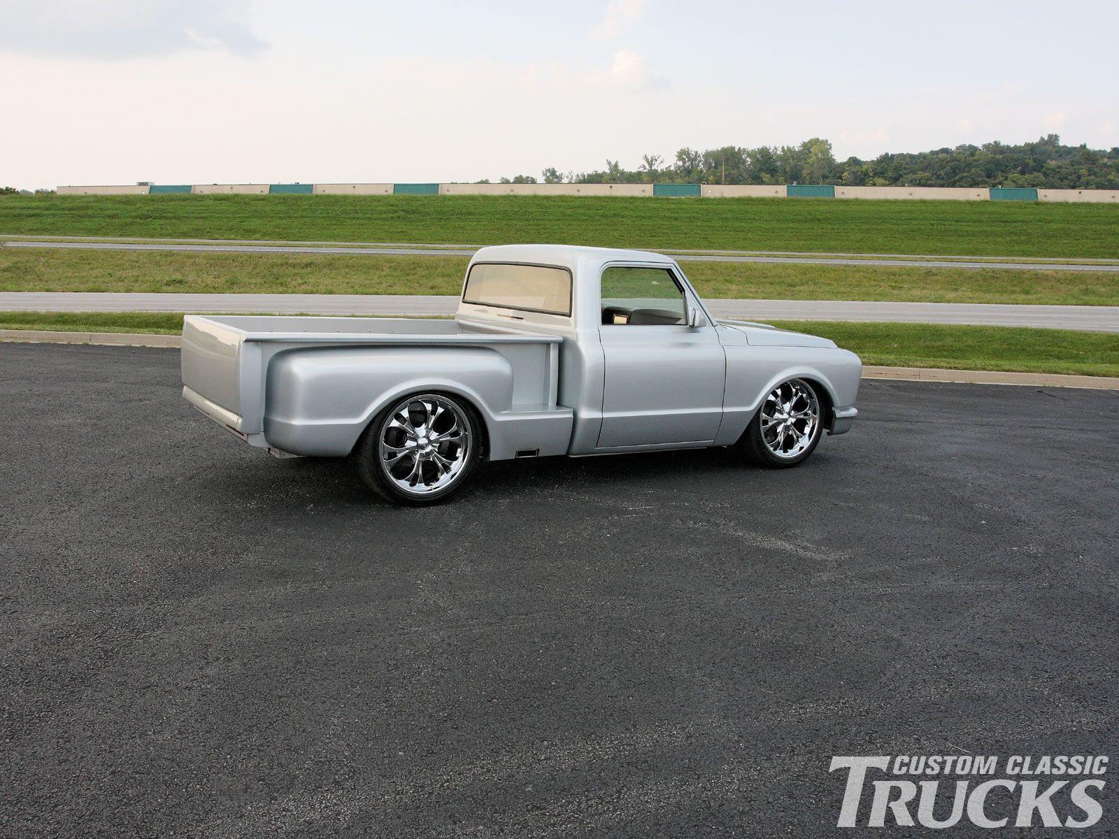 Custom pickup trucks 1967 chevy c10 pickup truck aftermarket rims