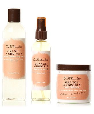 Carol S Daughter Orange Ambrosia Collection Carols Daughter Products Orange Carole