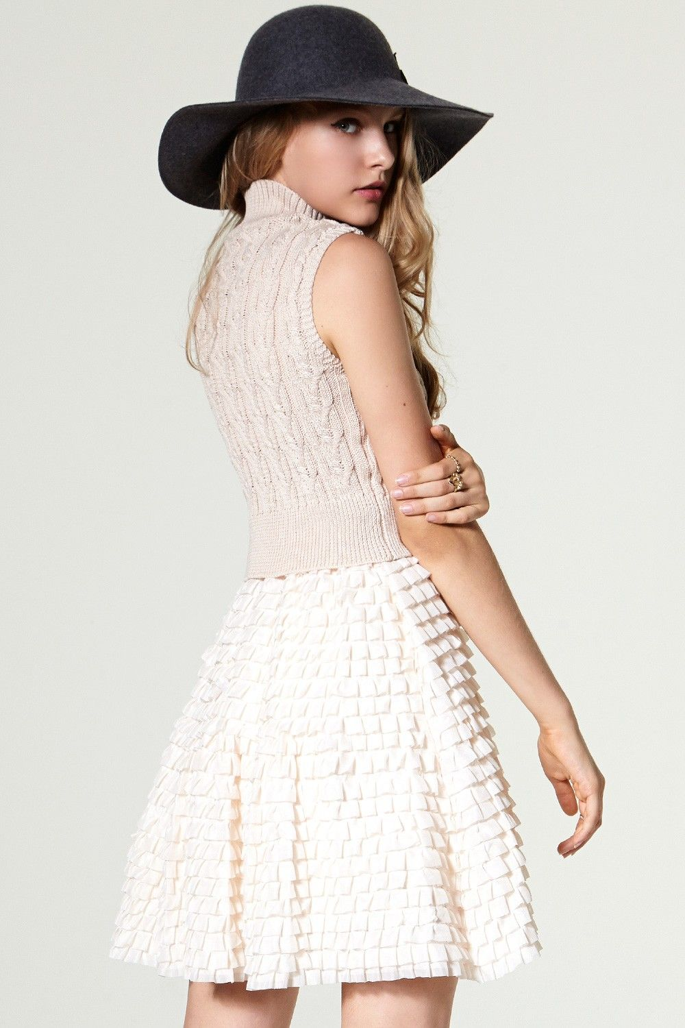 Lace dress jacket  Inas High Neck Cancan Dress Discover the latest fashion trends