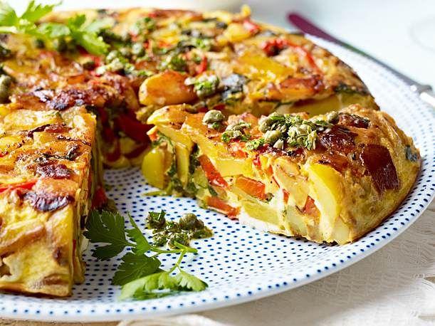 Gemüse-Tortilla Rezept | LECKER