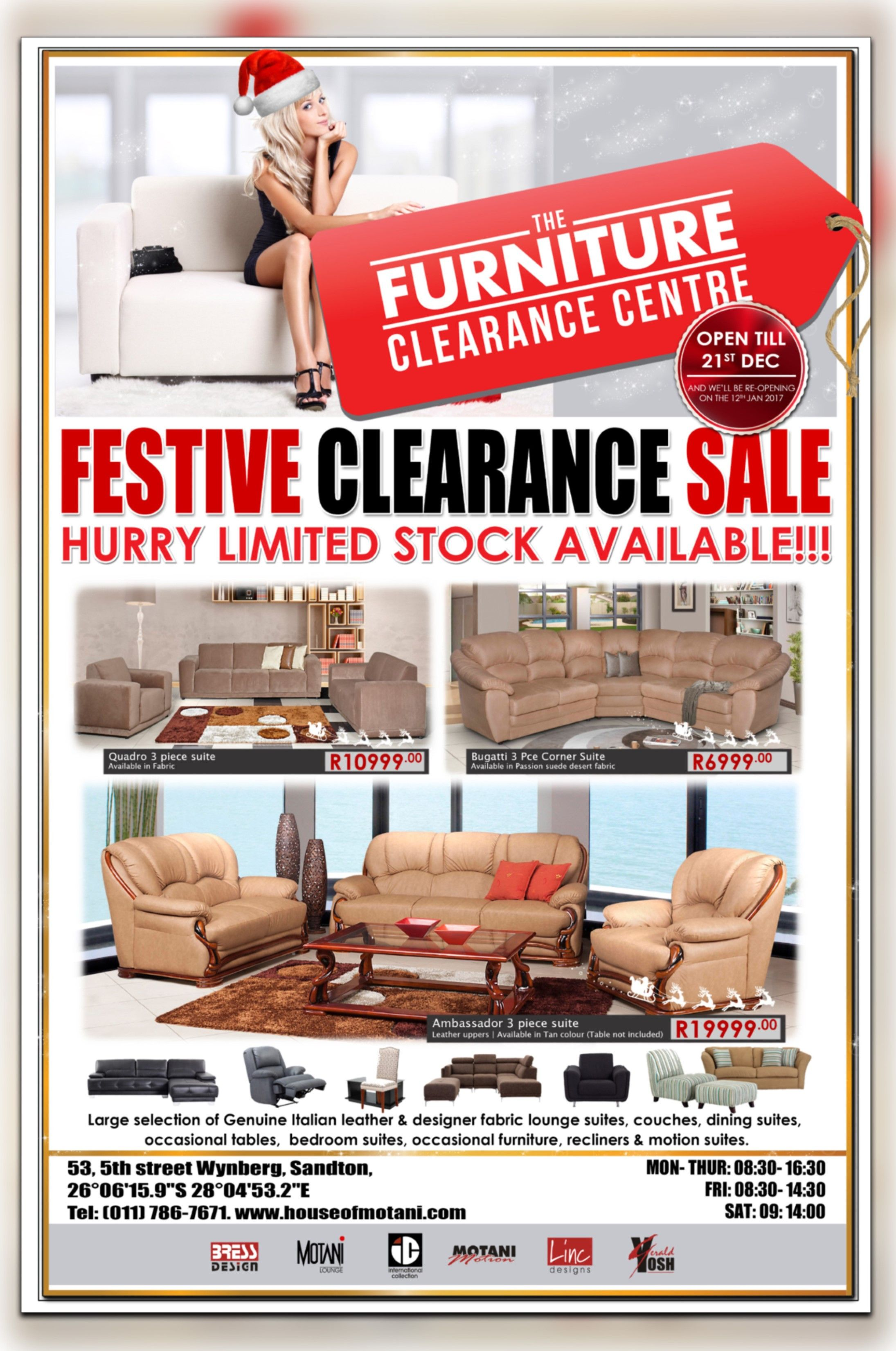 House Of Motani Furniture Clearance Centre