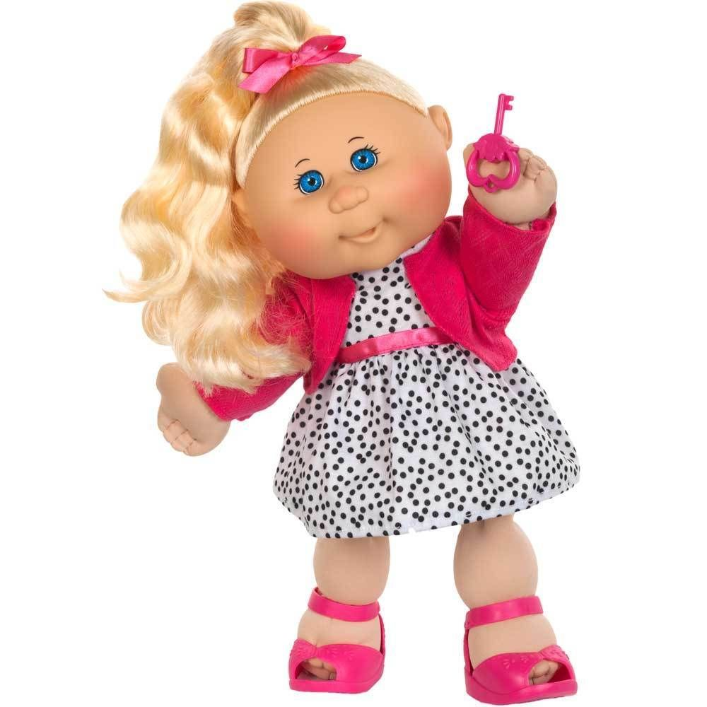 Cabbage Patch Kids 14 Inch Trendy Blonde Hair Blue Eyes Girl Nib Cabbage Patch Kids Dolls Cabbage Patch Kids Patch Kids