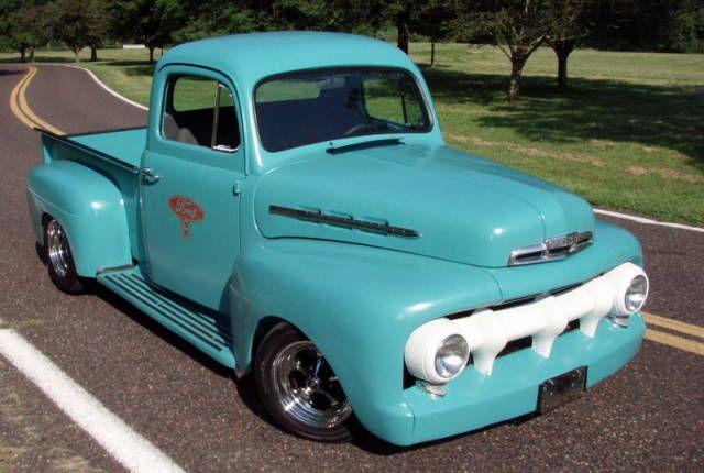 1951 Ford F1 Ebay Classic Pickup Trucks Classic Cars Trucks