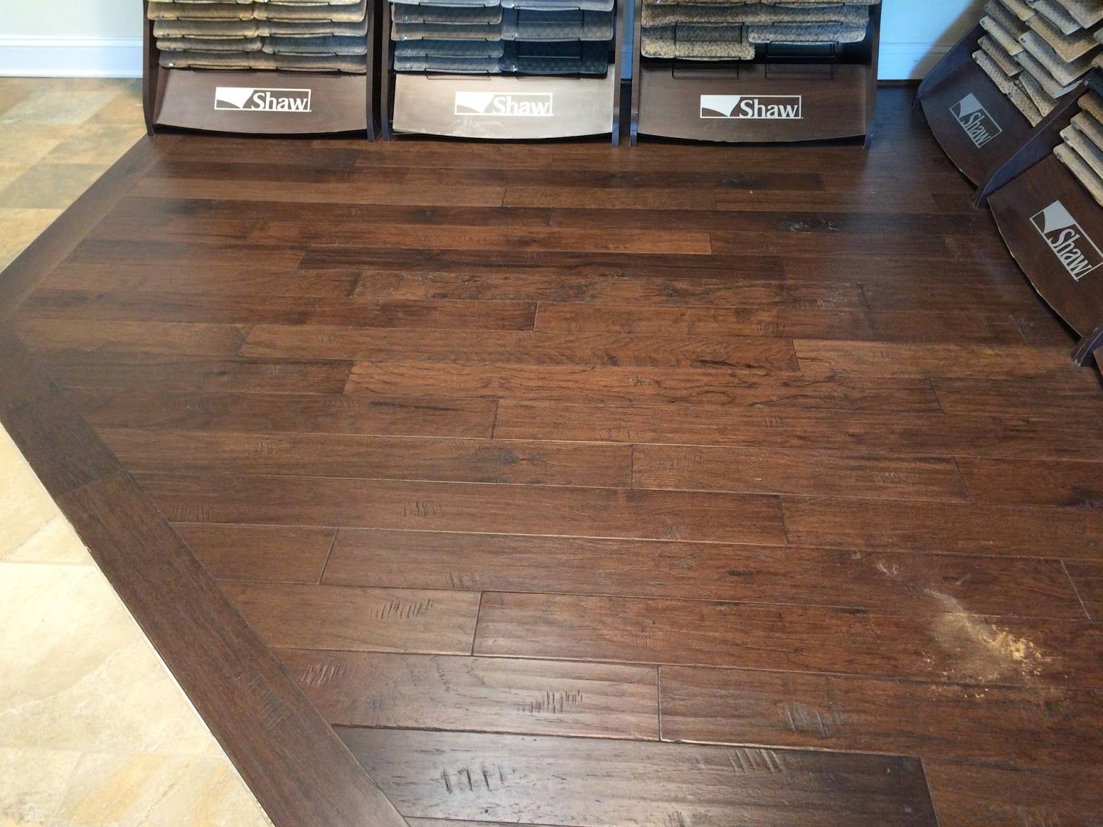 Armstrong Rural Living Hickory Wood With A Deep Java Stain