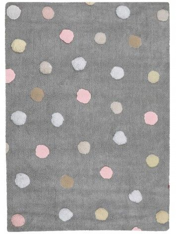 Sweet Colorful Rug To Bring Some Fun To The Nursery Room