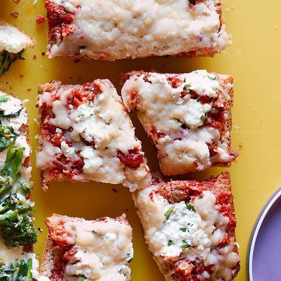 Lasagna Pizza Bread