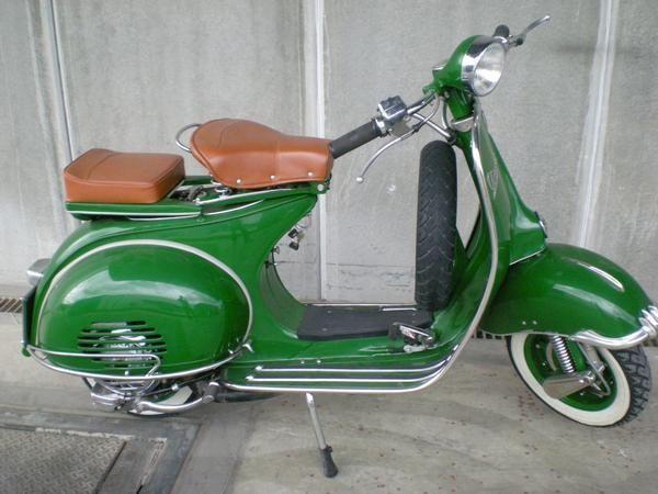 Restored Vespa 1953 Vespa Vintage Vespa Retro Vespa