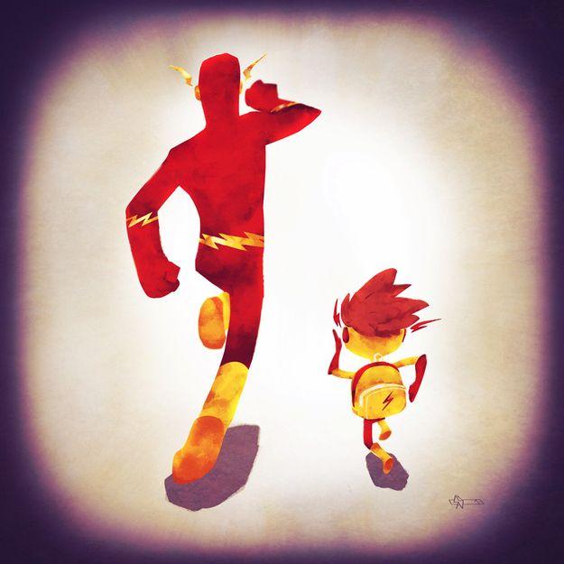 Familias de superhéroes: Flash