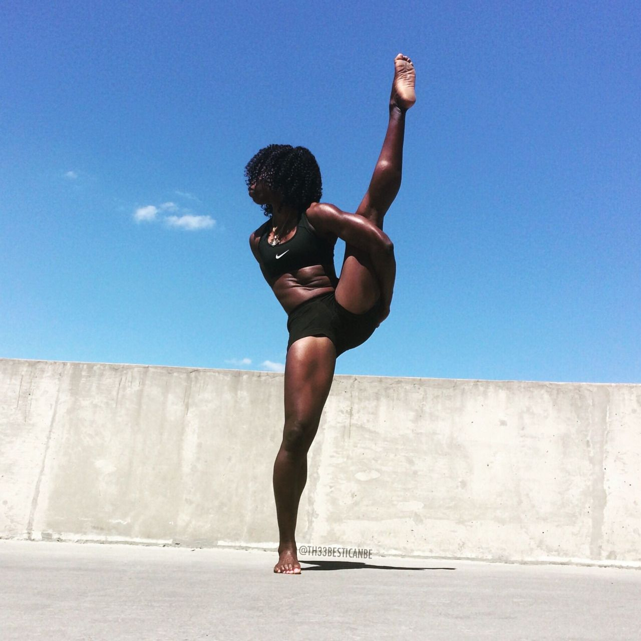 The Only Limits You Have Are The Limits You Believe Nevergiveup Black Girl Yoga How To Do Yoga Yoga Girl
