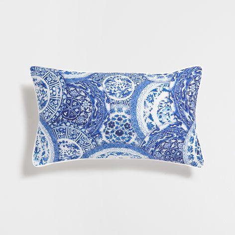 Circles Cushion Almofadas Decorativas Para Cama Decoracao De Almofadas Zara Home