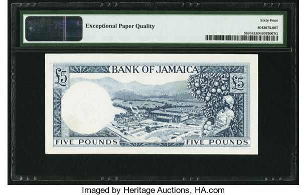 Jamaican Currency 2017