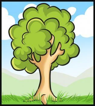 رسم شجرة Tree Drawing Simple Tree Drawing For Kids Tree Drawing