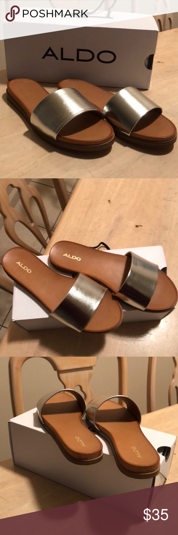 3f6d9c3fe0d2 Aldo Fabrizzia-u slide sandals New