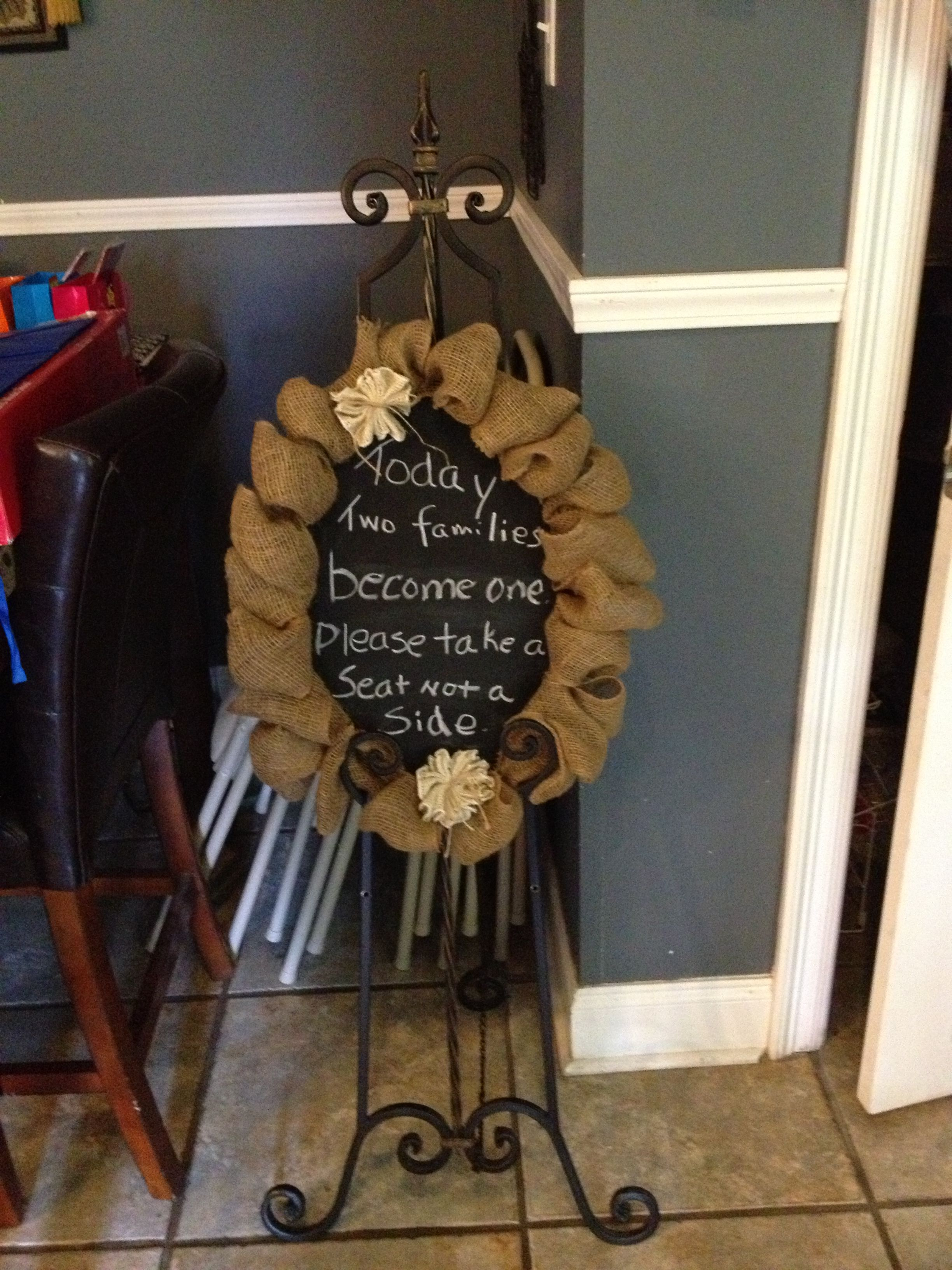 Love what you can do with chalkboard paint!