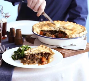 Proper beef, ale & mushroom pie | Recipe | Bbc good food ...