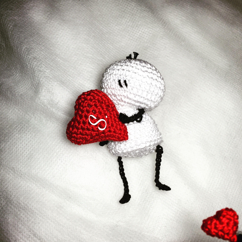 Bigli in love amigurumi pattern italiano