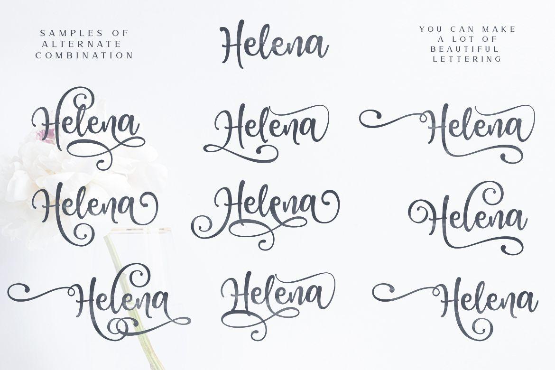 Download Honey Butter Font Trio & 260 Vectors example image 9 ...