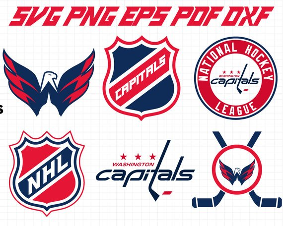 This Listing Is To Purchase Digital Files The Files Are Instant Download And You Won T Receive An Washington Capitals Logo Capitals Hockey Washington Capitals