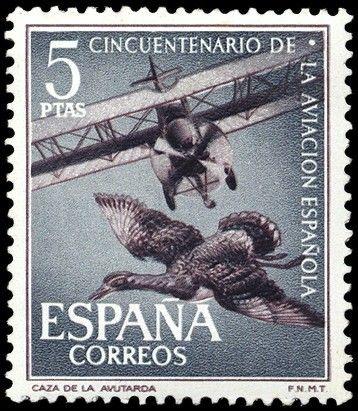 50 aniversario de la Aviación Española - 1961