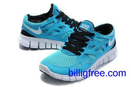 Verkaufen billig Herren Nike Free Run 2 Schuhe (Farbe:vamp-blau,innen