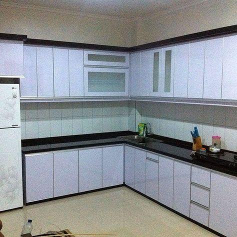 contoh kitchen set modern | ide apartemen, dekorasi rumah