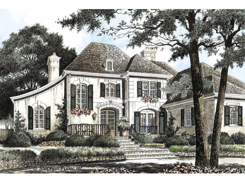 Avignon Stephen Fuller French Country House Plans French House Plans House Plans