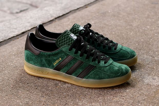 info for d5751 8c02d adidas Gazelle Indoor Dark Green Black   Hypebeast