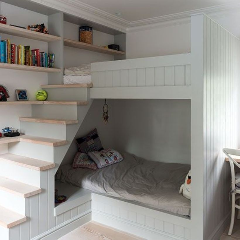 46 Cozy and Fun Loft Beds for Kids' Room images