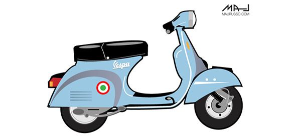 free vector scooter illustration vector characters motorcycle illustration scooter vector free free vector scooter illustration