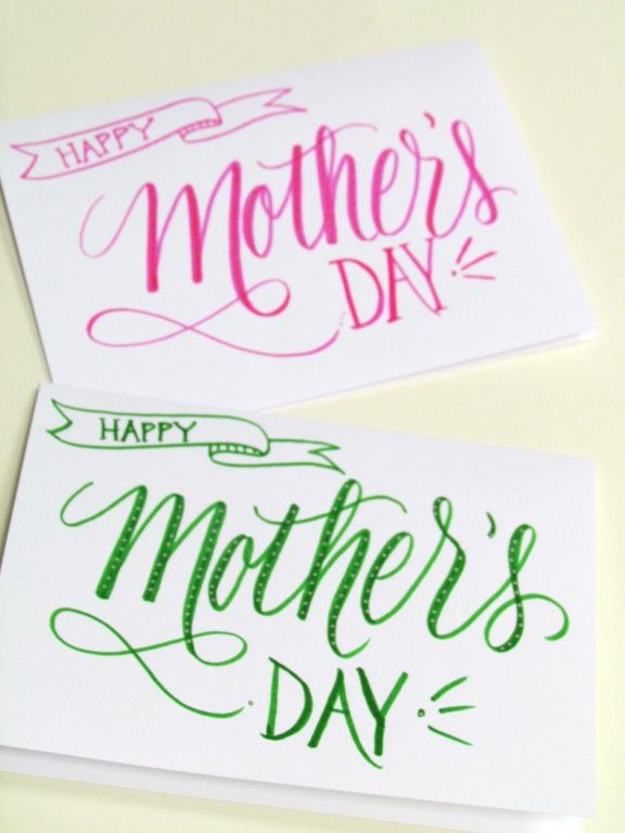 Lettering Lately Happy Mothers Day Letter Happy Mother S Day Calligraphy Hand Lettering Cards