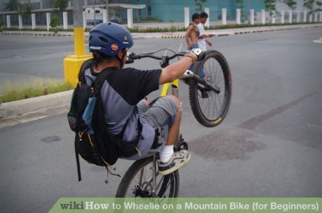 Wheelie On A Mountain Bike Ride Bicycle Bicycle Best Mountain
