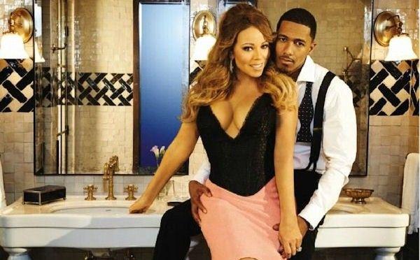 Mariah Carey & Nick Cannon in EBONY | Mariah carey nick ...