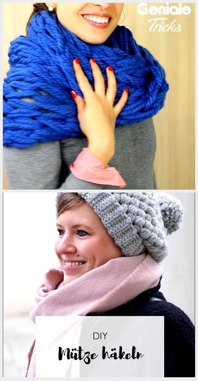 Photo of #den #simple #loopscarf # same #knit Just knit the loop scarf yourself …