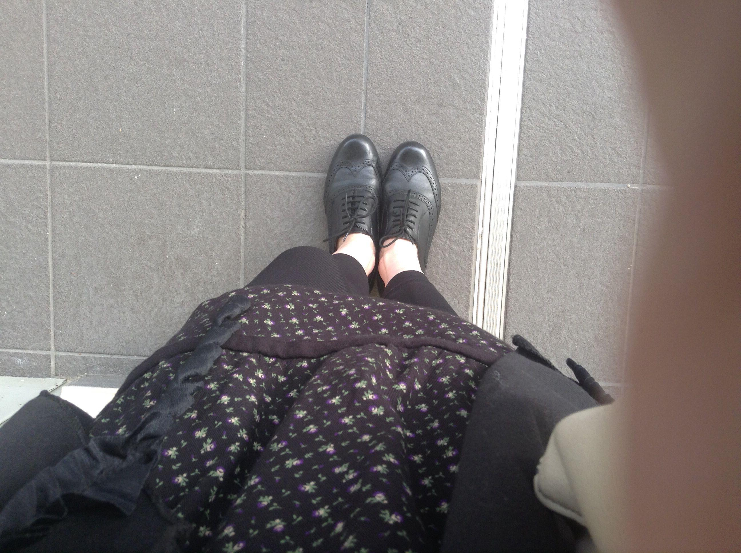 Preppy shoes in spring