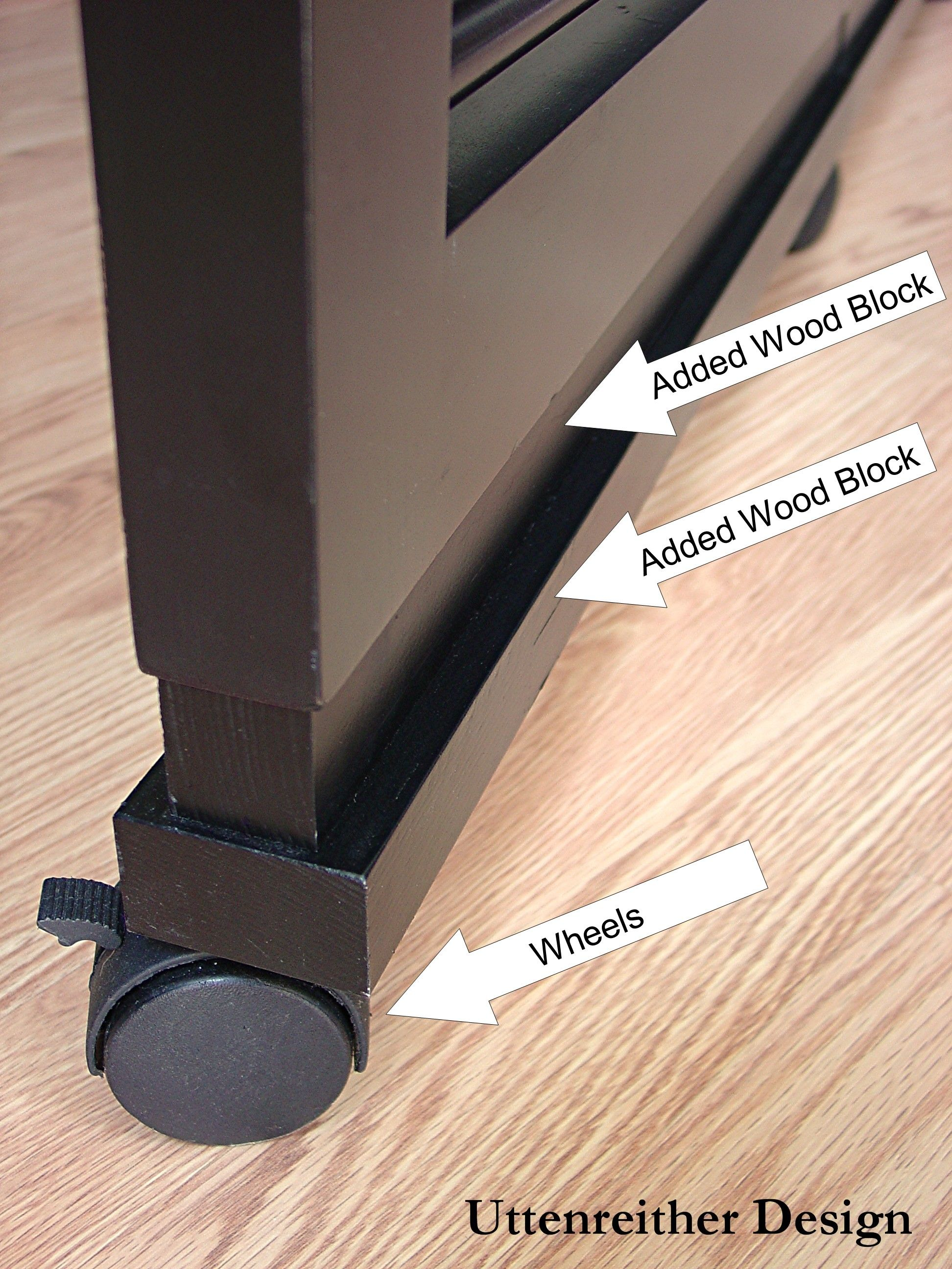 Room Divider How To  Wheels On The Room Divider Provide Endless Options For  Positioning.