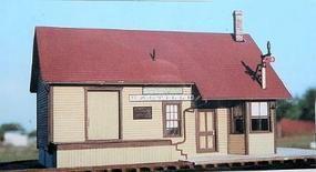 BTS Craftsman Kits - Saltillo Station O Scale Model Railroad