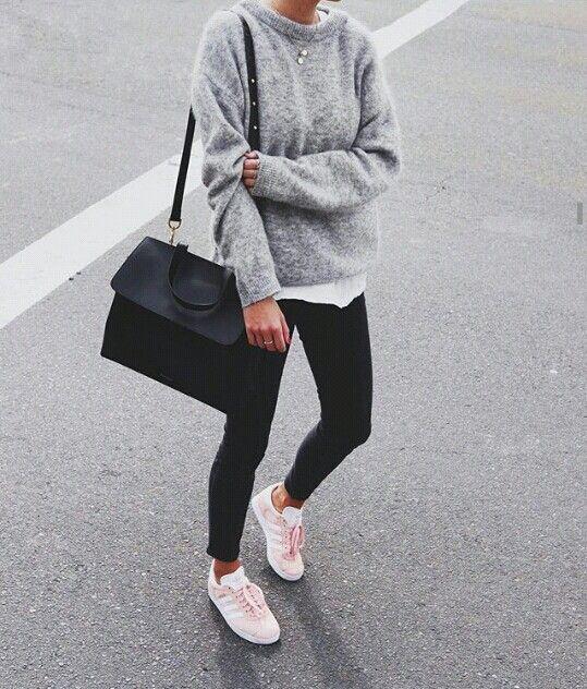 pinterest : xviannchanx ☽   Adidas gazelle outfit