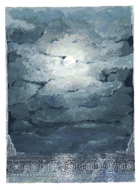 Robert Zakanitch | Tatting Moon (2015), Available for Sale | Artsy