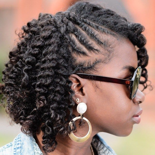 Natural Twist Hairstyles Amazing 75 Most Inspiring Natural Hairstyles For Short Hair  Natural Hair