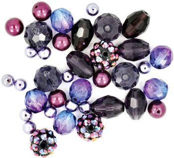 Design Elements Beads 28g-Vanilla Sugar
