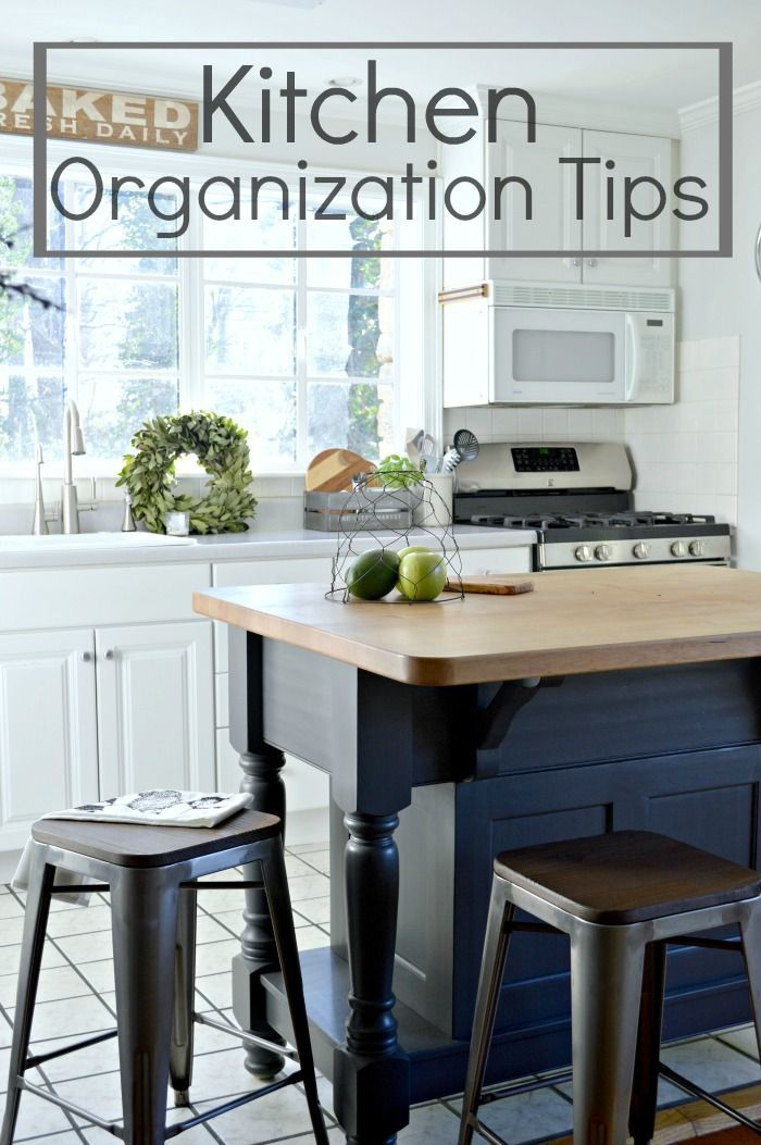 My favorite organization tips for a small kitchen