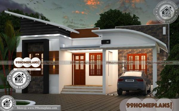 Beautiful One Story Homes 70 Kerala Contemporary House Elevations